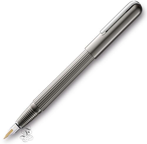 Lamy Imporium fountain pen titanium mat / platinum