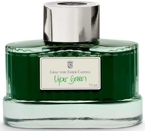 Graf von Faber-Castell fountain pen ink 75ml Viper Green