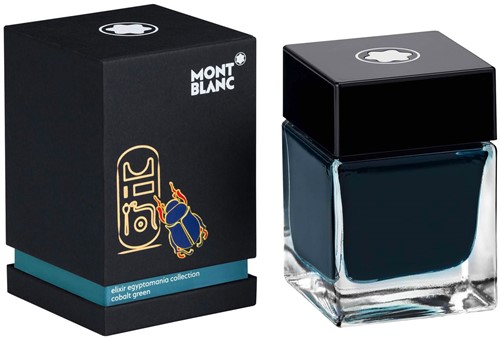 Montblanc Ink bottle Elixir Egyptomania green 50ml