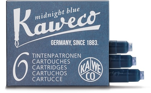 Kaweco ink cartridges midnight blue (6 pcs)