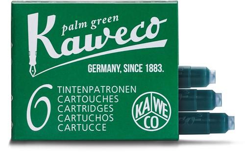Kaweco inkt cartridges palm groen (6 stuks)