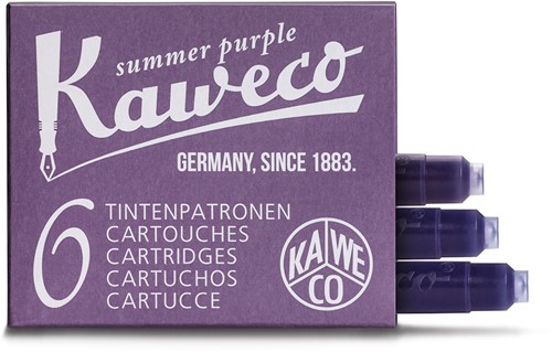 Kaweco ink cartridges summer purple (6 pcs)
