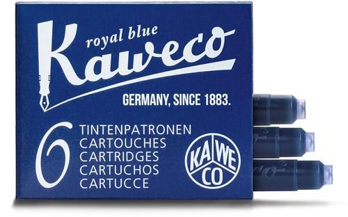 Kaweco inkt cartridges royaal blauw (6 stuks)