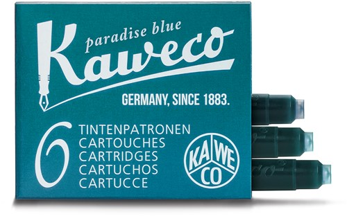 Kaweco ink cartridges paradise blue (6 pcs)