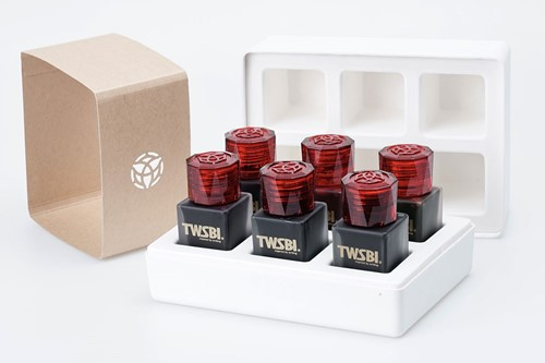 TWSBI ink 6 pack of 18ml bottles