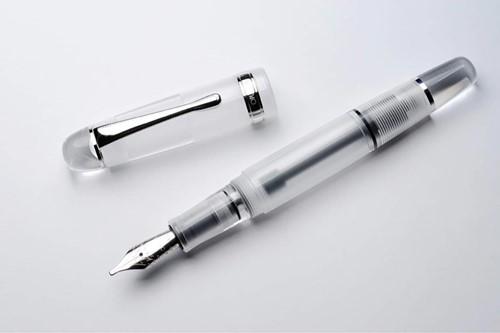 Opus 88 Jazz clear demonstrator fountain pen