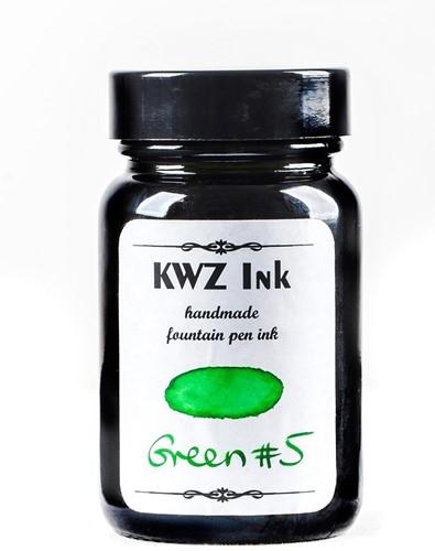 KWZ Green nr 5 fountain pen ink 60ml