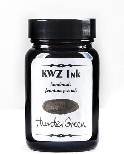 KWZ Hunter Green fountain pen ink 60ml