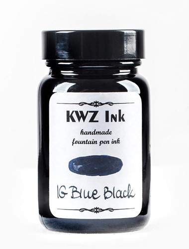 KWZ IG Blue Black fountain pen ink 60ml Iron Gall