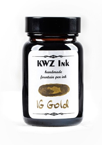 KWZ IG Gold fountain pen ink 60ml Iron Gall