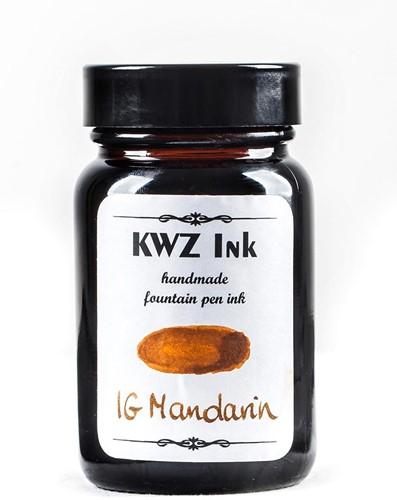 KWZ IG Mandarin fountain pen ink 60ml Iron Gall
