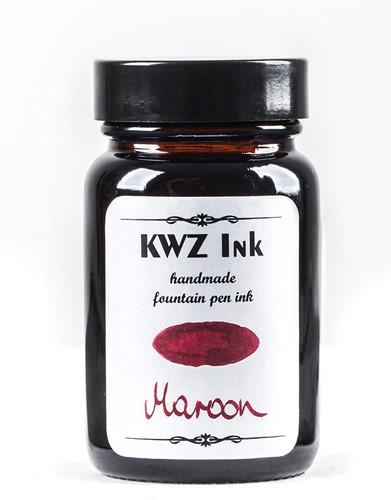 KWZ Maroon fountain pen ink 60ml