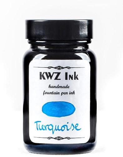 KWZ Turquoise fountain pen ink 60ml