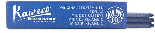 Kaweco Color leads Blue 5.6mm box of 3pcs soft