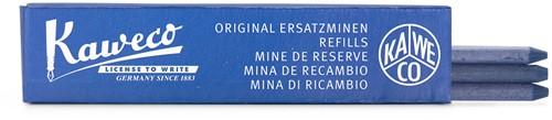Kaweco color stiften voor potlood 5,6mm blauw 3 per doos