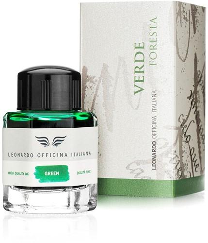 Leonardo ink Verde Foresta 40ml bottled ink