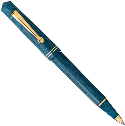 Leonardo Momento Zero Positano ballpoint pen with gold trim