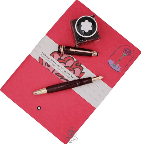 Montblanc Meisterstück Le Petit Prince & Planet & Rose Holiday Gift Set