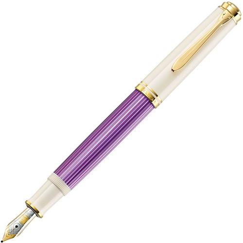 Pelikan M600 fountain pen violet / white, special edition