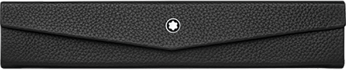 Montblanc Meisterstück Soft Grain 1 Pen Pouch Foldable black