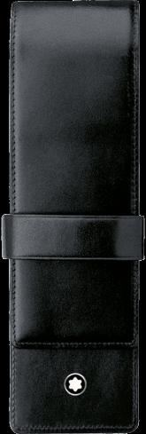 Montblanc Meisterstück pen pouch 2 pens black leather