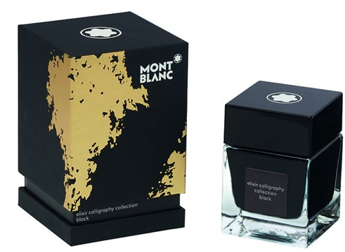 Montblanc Ink bottle Elixir Calligraphy Black 50ml