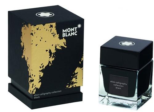 Montblanc Inkt fles Elixir Calligraphy Zwart 50ml