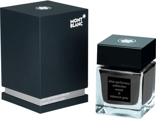 Montblanc Ink bottle Elixir Parfumeur Wood & Tobacco Grey 50ml