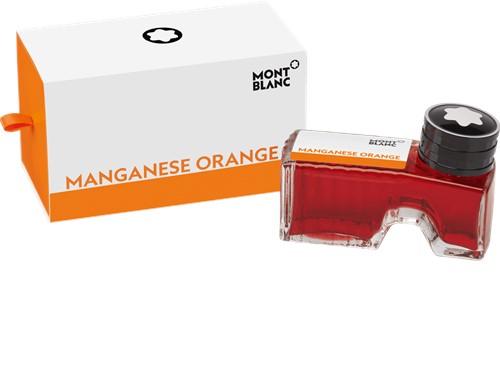 Montblanc Inkt fles Manganese Orange 60ml