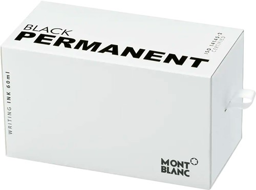 Montblanc Ink bottle Permanent Black 60ml