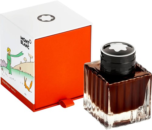 Montblanc Ink bottle Petit Prince and Fox, orange 50ml