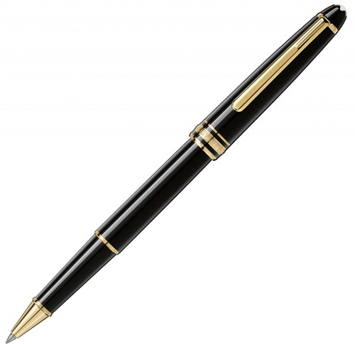 Montblanc Meisterstück 163 Classique gold rollerball pen