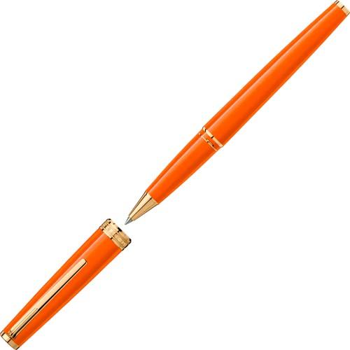 Montblanc Pix Manganese Orange rollerball pen
