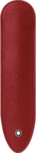 Montblanc Sartorial 1 pen sleeve red leather