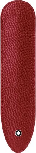 Montblanc Sartorial 1 pen sleeve rood leer