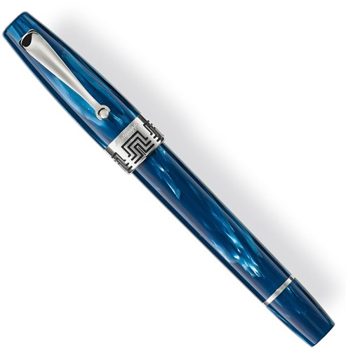 Montegrappa Extra 1930 fountain pen mediterranean blue, 18k nib