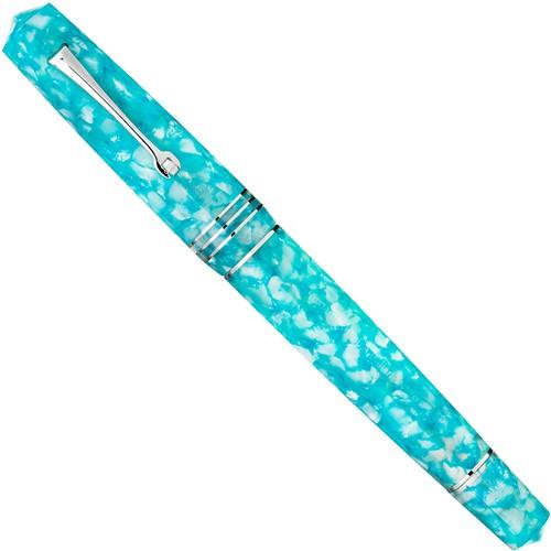 Leonardo Momento Zero Grande Blue Fior d'Acqua fountain pen