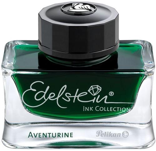 Pelikan Edelstein inkt aventurine (groen) 50ml