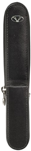 Visconti Dreamtouch pen case for 1 pen, black leather