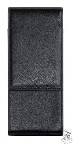 Lamy pen case for 3 pens, leather grained with velvety-matt surface