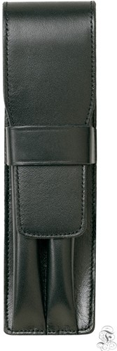 Lamy pen case for 2 pens, leather black