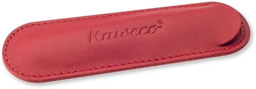 Kaweco Sport for 1 pen leather penpouch chili pepper