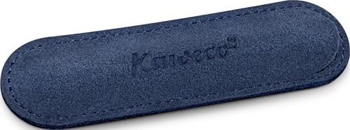 Kaweco Sport voor 1 pen velours etui blauw