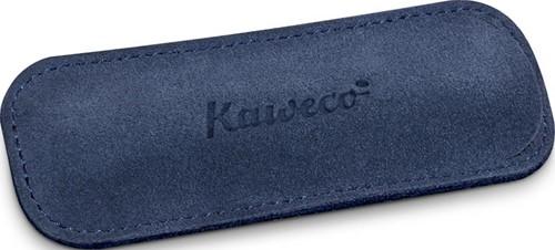 Kaweco Sport for 2 pens velours penpouch blue