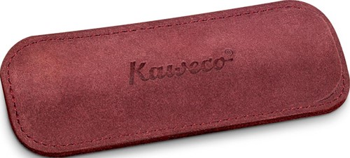 Kaweco Sport for 2 pens velours penpouch burgundy