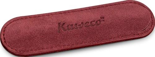 Kaweco Sport for 1 pen velours penpouch burgundy