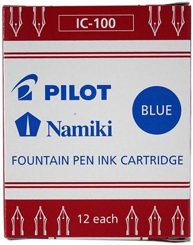 Pilot inkt cartridges Blauw 12 stuks