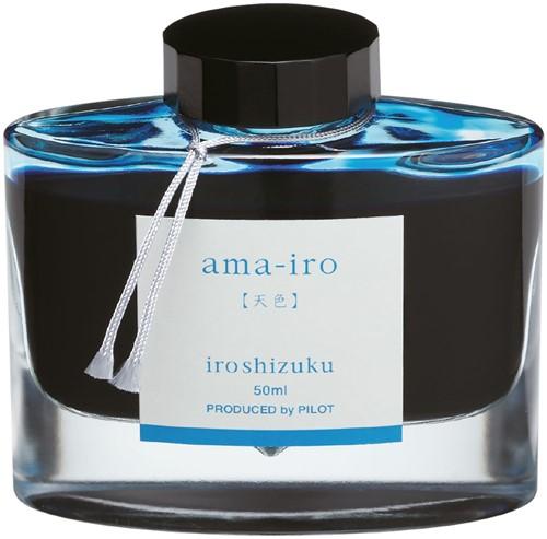 Pilot Iroshizuku Ama-Iro Blue ink 50ml