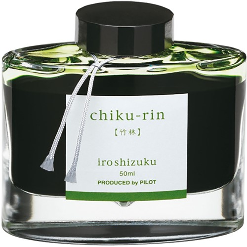 Pilot Iroshizuku Chiku-Rin Green ink 50ml