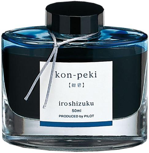 Pilot Iroshizuku Kon-Peki Blue ink 50ml